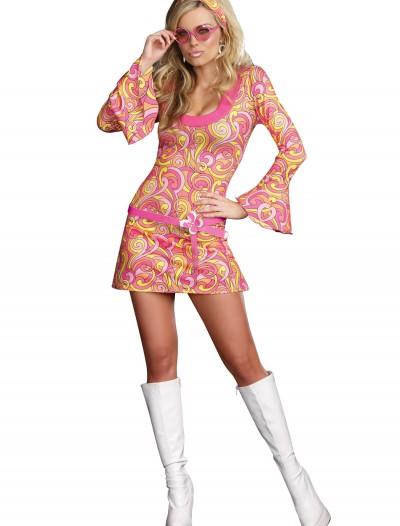 Groovy Go Go Dancer Costume, halloween costume (Groovy Go Go Dancer Costume)