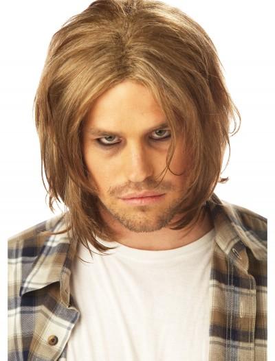 Grunge Mens Blonde Wig, halloween costume (Grunge Mens Blonde Wig)