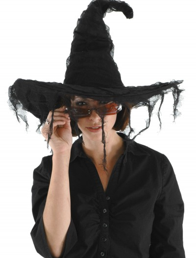 Grunge Witch Black Hat, halloween costume (Grunge Witch Black Hat)
