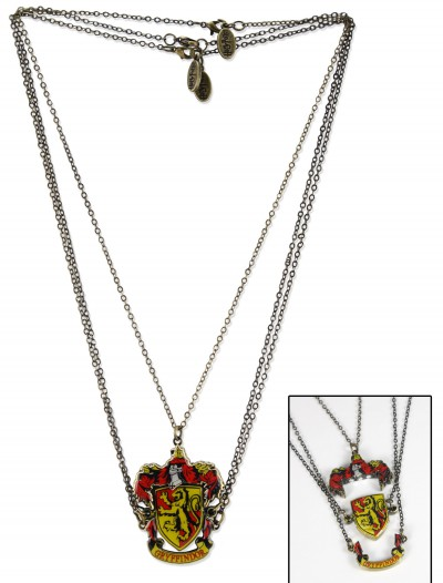 Gryffindor Crest Necklace, halloween costume (Gryffindor Crest Necklace)