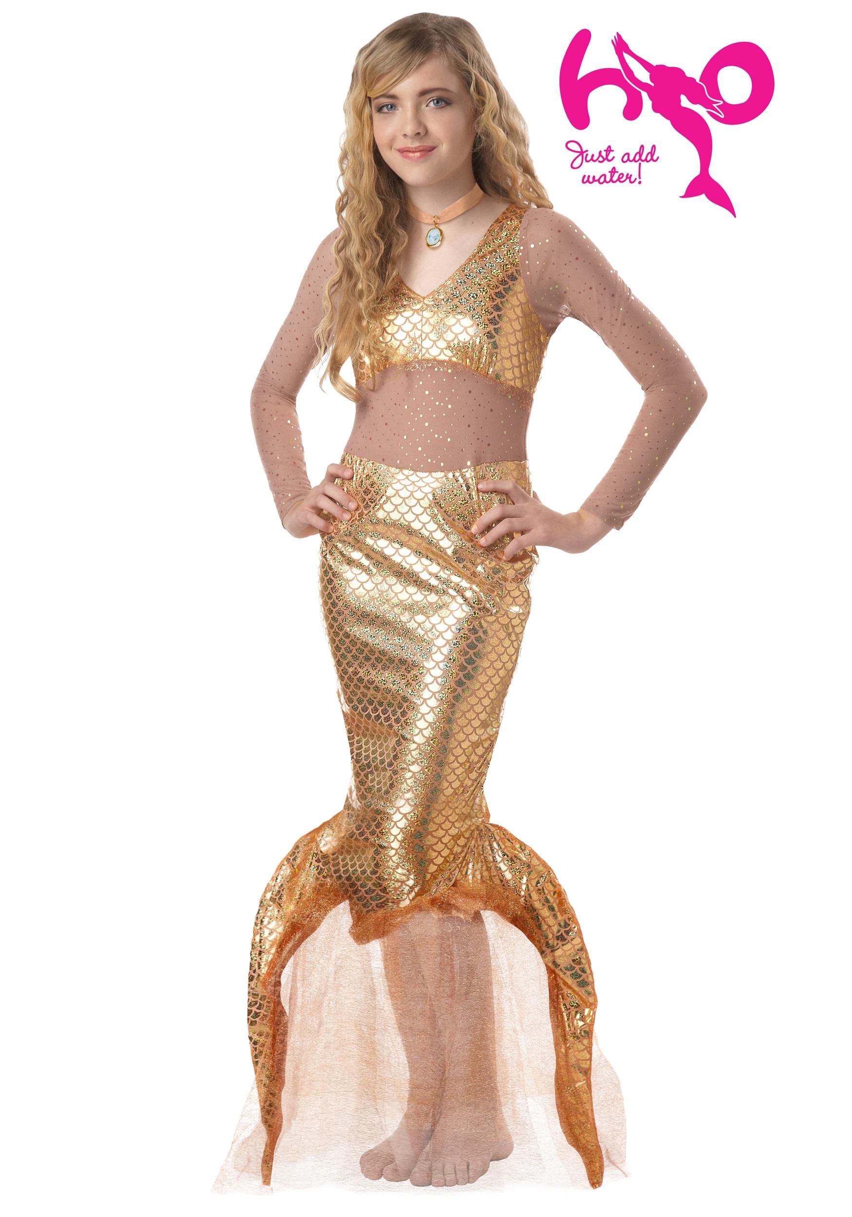 H20 Mermaid Tween Costume - Halloween Costumes