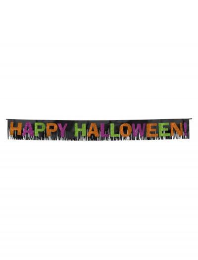 Halloween Glitter Paper Letters w/Foil Fringe, halloween costume (Halloween Glitter Paper Letters w/Foil Fringe)