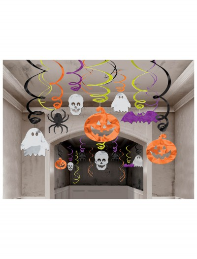 Halloween Hanging Swirl Decorations 30 Pack, halloween costume (Halloween Hanging Swirl Decorations 30 Pack)