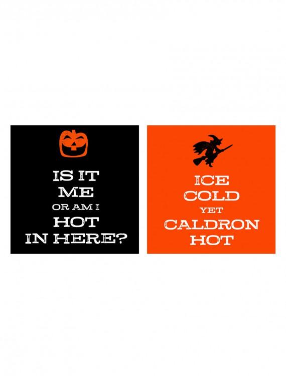 Halloween Spooky Scene Beverage Napkins Pack, halloween costume (Halloween Spooky Scene Beverage Napkins Pack)