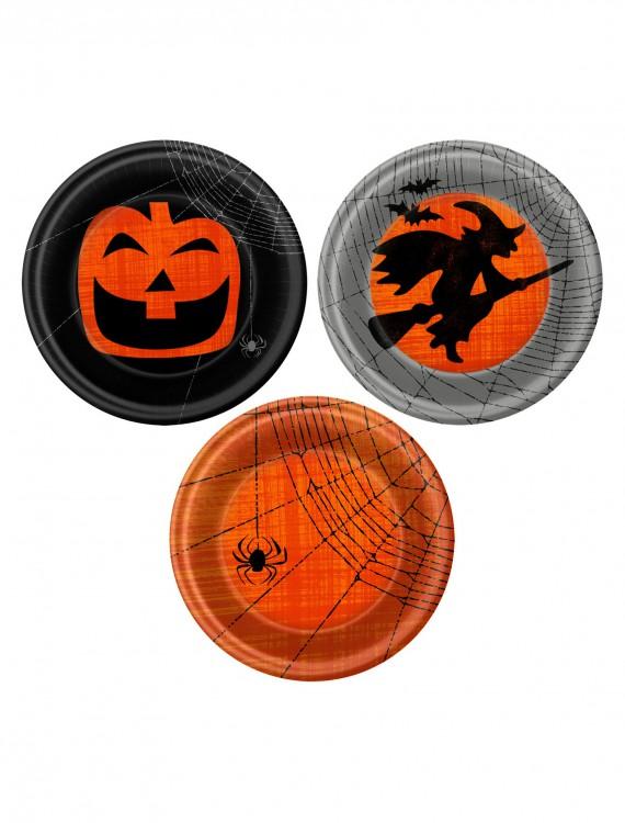 Halloween Spooky Scene Dessert Plates (Pack of 8), halloween costume (Halloween Spooky Scene Dessert Plates (Pack of 8))