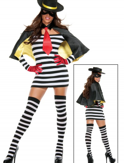 Hamburger Thief  Costume, halloween costume (Hamburger Thief  Costume)