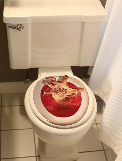 Hand Toilet Topper, halloween costume (Hand Toilet Topper)