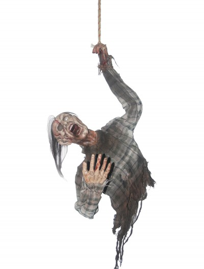 Hanging Bloody Zombie, halloween costume (Hanging Bloody Zombie)