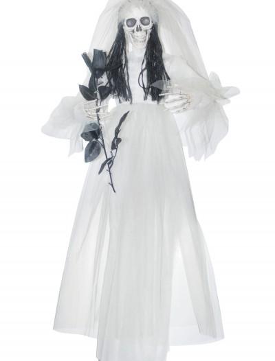 Hanging Bride w/ Black Rose, halloween costume (Hanging Bride w/ Black Rose)