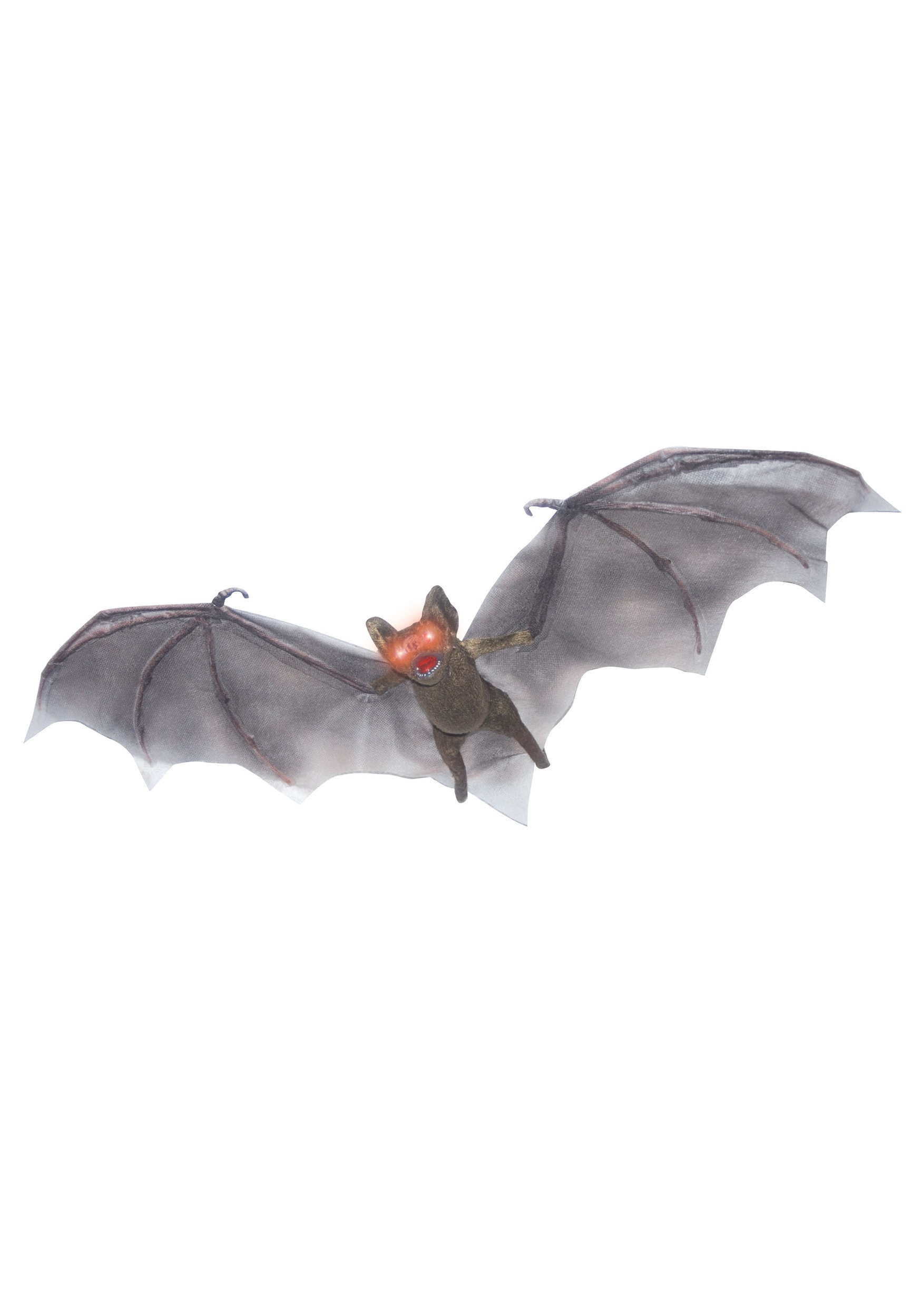 hanging brown bat eyes light up