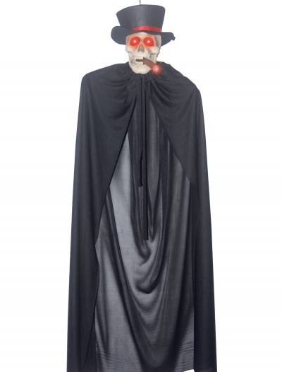 Hanging Cigar Smoking Skeleton, halloween costume (Hanging Cigar Smoking Skeleton)