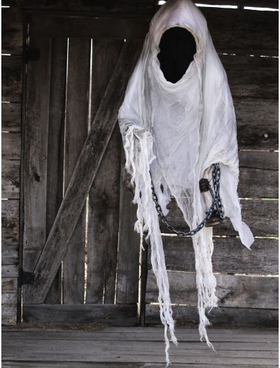 Hanging Faceless Reaper w/ Lantern, halloween costume (Hanging Faceless Reaper w/ Lantern)