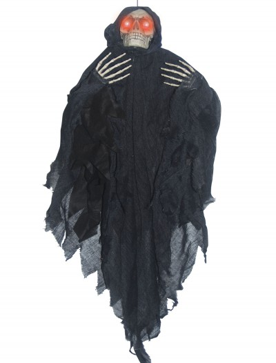 Hanging Light Up Black Reaper, halloween costume (Hanging Light Up Black Reaper)