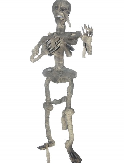 Hanging Mummified Skeleton, halloween costume (Hanging Mummified Skeleton)