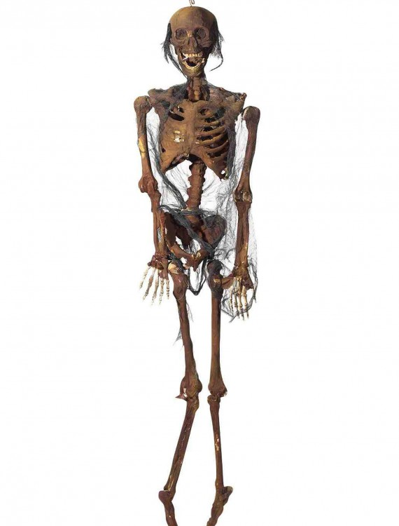 Hanging Rotted Skeleton, halloween costume (Hanging Rotted Skeleton)