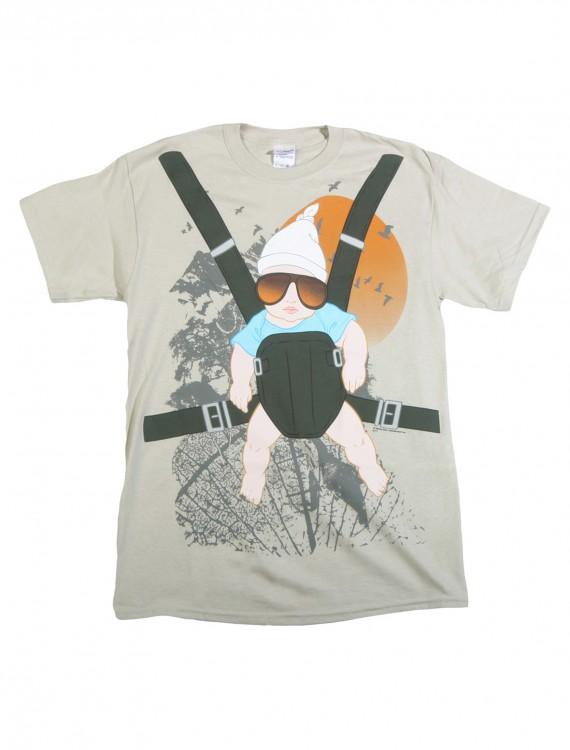 Hangover Baby Bjorn T-Shirt, halloween costume (Hangover Baby Bjorn T-Shirt)
