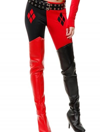 Harlequin Joker Boot Covers, halloween costume (Harlequin Joker Boot Covers)