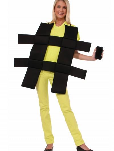 Hash Tag Costume, halloween costume (Hash Tag Costume)