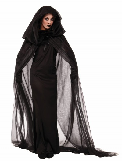 Women's Dark Sorceress Dress, halloween costume (Women's Dark Sorceress Dress)