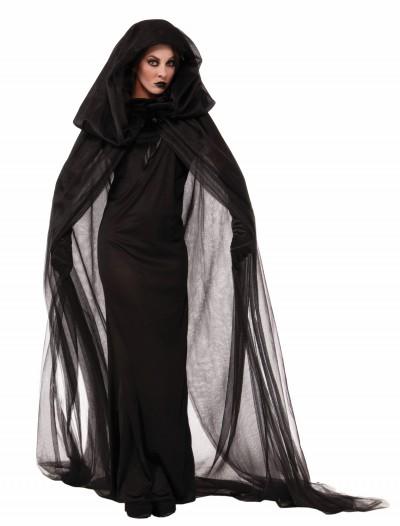 Women's Dark Sorceress Dress, halloween costume (Women's Dark Sorceress Dress)