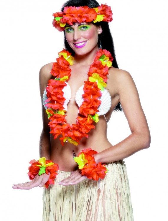Hawaiian Accessory Kit, halloween costume (Hawaiian Accessory Kit)