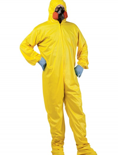 HAZMAT Suit & Mask, halloween costume (HAZMAT Suit & Mask)