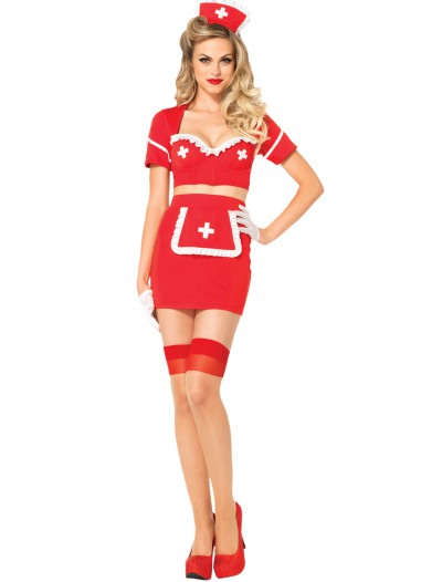 Heart Attack Hottie Nurse Costume, halloween costume (Heart Attack Hottie Nurse Costume)