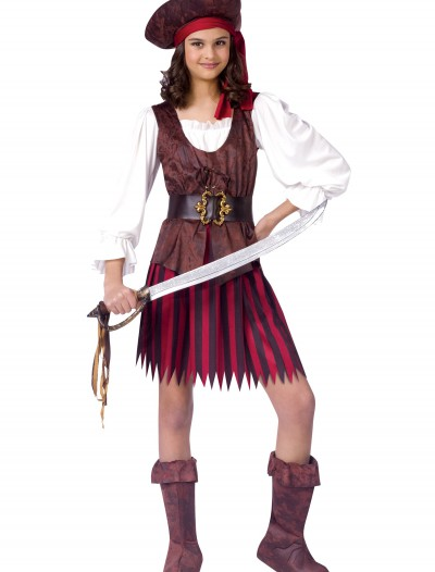 High Seas Pirate Girl Costume, halloween costume (High Seas Pirate Girl Costume)