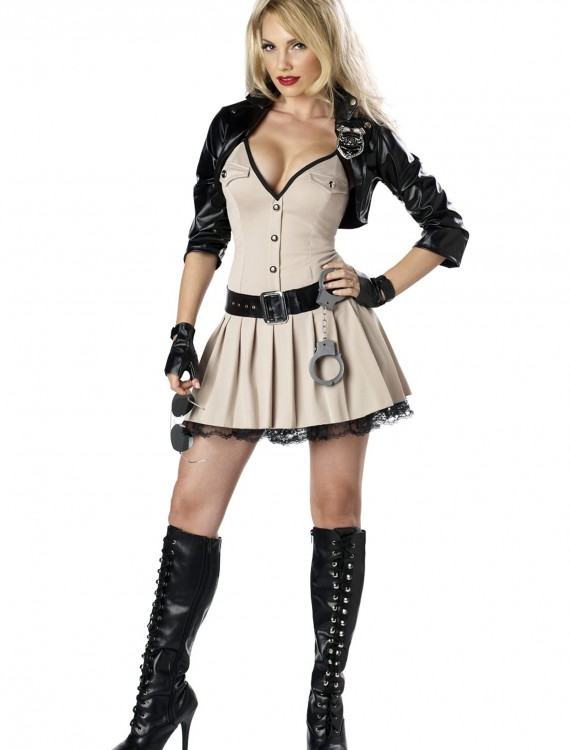 Highway Hottie Cop Costume, halloween costume (Highway Hottie Cop Costume)