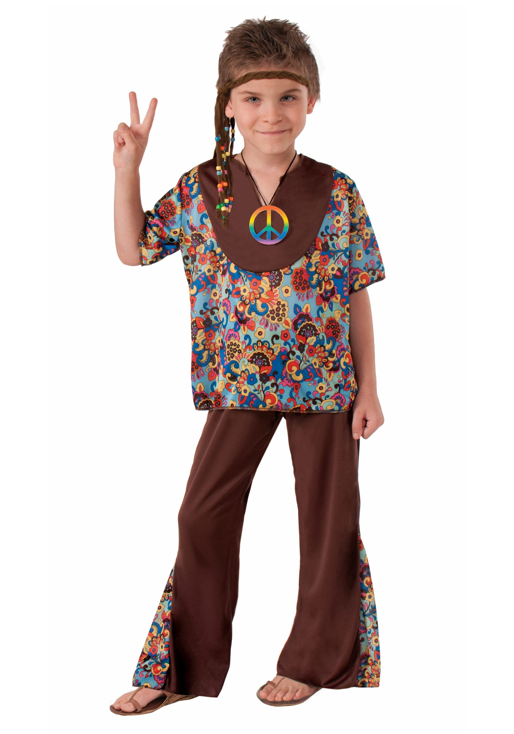 Hippie Boy Costume  sc 1 st  Halloween Costumes & Hippie Boy Costume - Halloween Costumes