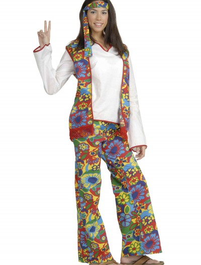 Hippie Chick Costume, halloween costume (Hippie Chick Costume)