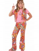 Hippie Girl Costume, halloween costume (Hippie Girl Costume)