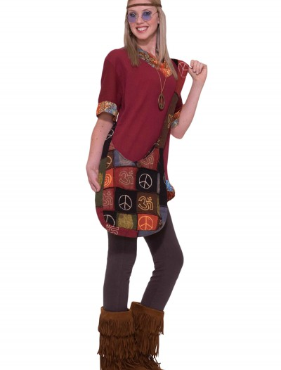 Hippie Peace Handbag, halloween costume (Hippie Peace Handbag)