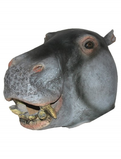 Hippo Latex Mask, halloween costume (Hippo Latex Mask)