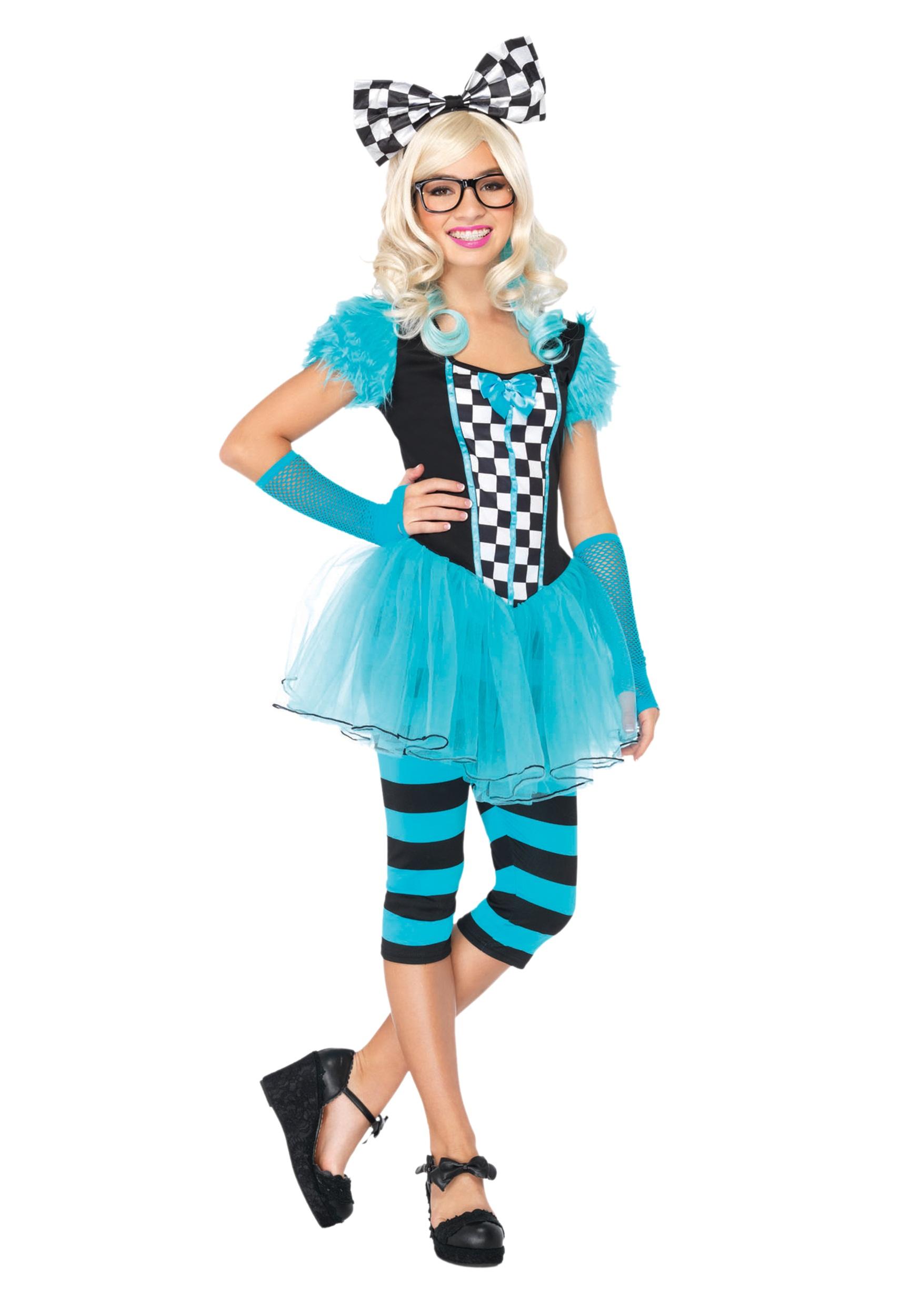Hipster Alice Tween Costume - Halloween Costumes
