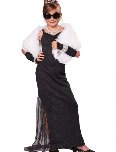 Girl's Hollywood Diva Costume, halloween costume (Girl's Hollywood Diva Costume)