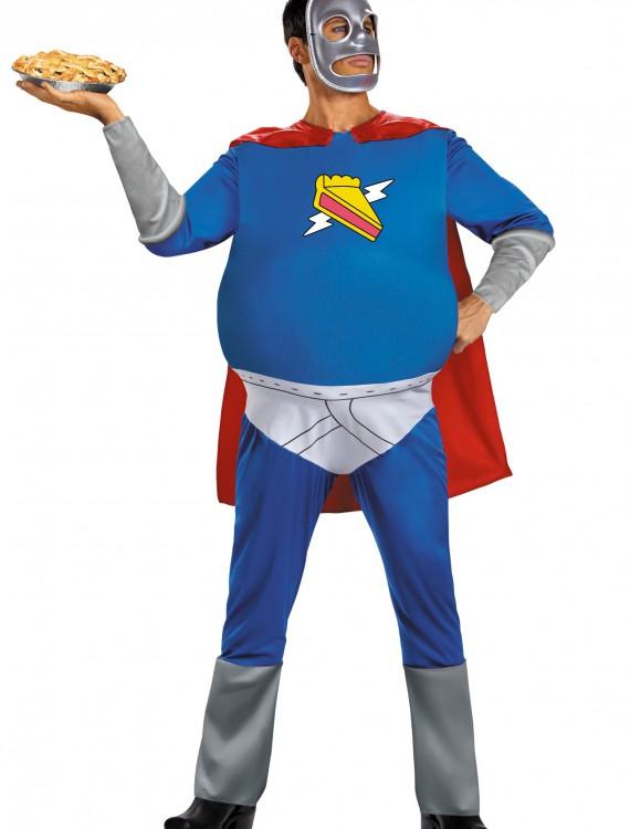 Homer Pie-Man Adult Costume, halloween costume (Homer Pie-Man Adult Costume)