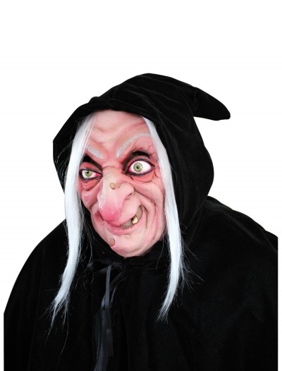 Hooded Witch Mask, halloween costume (Hooded Witch Mask)