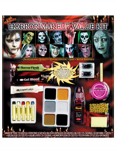 Horror Makeup Value Kit, halloween costume (Horror Makeup Value Kit)