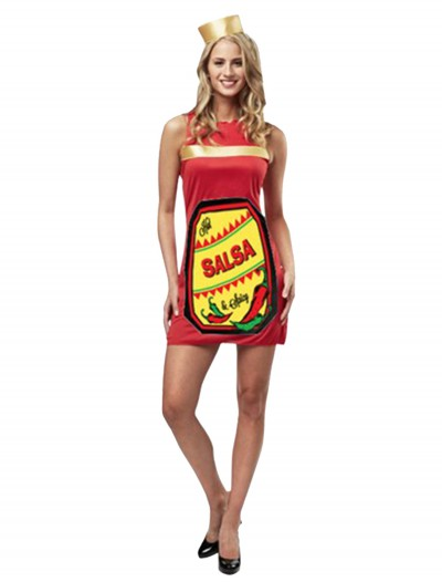 Hot and Spicy Salsa Costume, halloween costume (Hot and Spicy Salsa Costume)