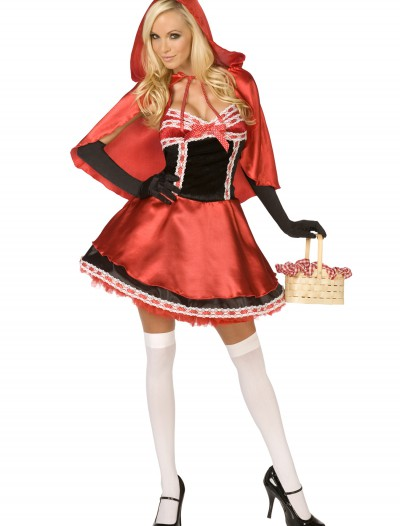 Hot Red Riding Hood Costume, halloween costume (Hot Red Riding Hood Costume)