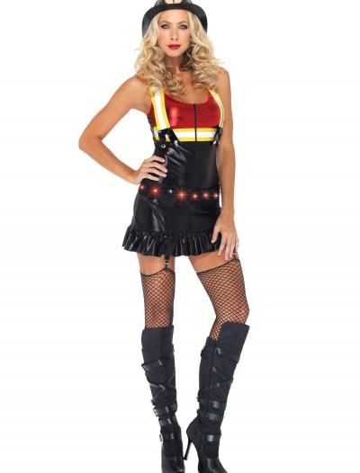 Hot Spot Firegirl Costume, halloween costume (Hot Spot Firegirl Costume)