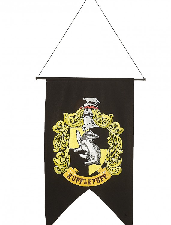 Hufflepuff Banner, halloween costume (Hufflepuff Banner)