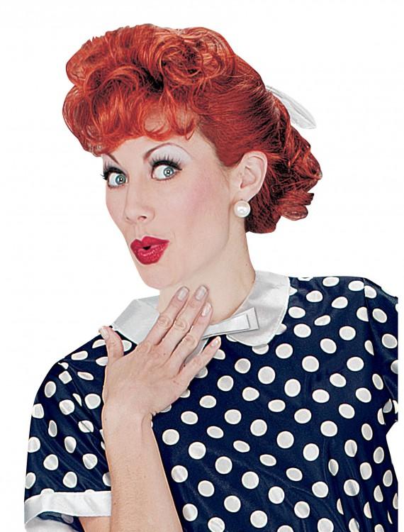 I Love Lucy Wig, halloween costume (I Love Lucy Wig)