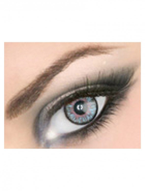 Impressions Blue Contact Lens, halloween costume (Impressions Blue Contact Lens)