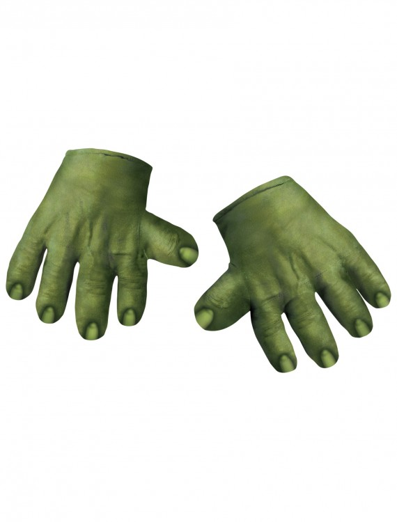 Incredible Hulk Hands, halloween costume (Incredible Hulk Hands)