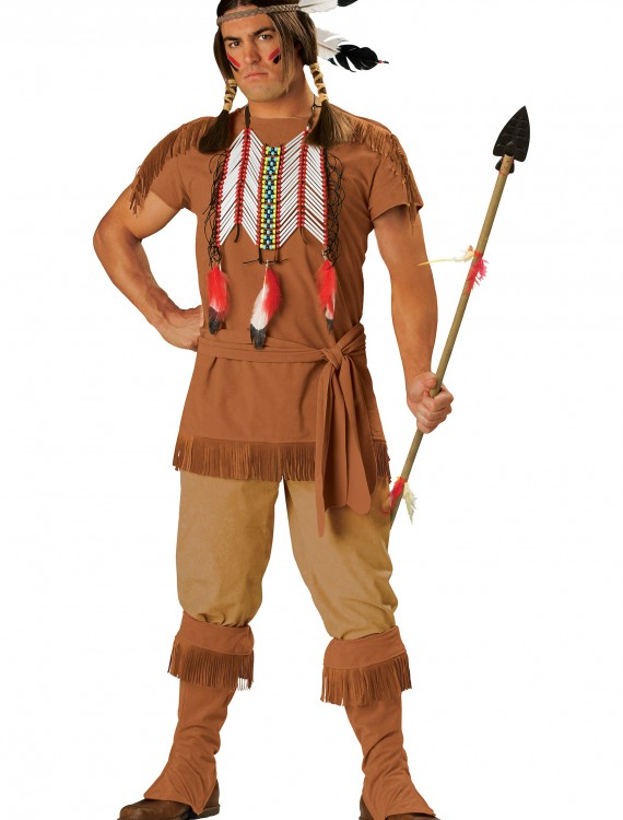 Indian Brave Costume, halloween costume (Indian Brave Costume)
