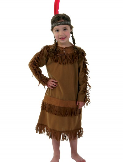 Indian Girl Child Costume, halloween costume (Indian Girl Child Costume)