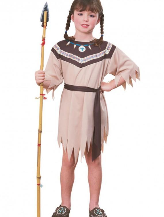 Indian Girl Native American Costume, halloween costume (Indian Girl Native American Costume)
