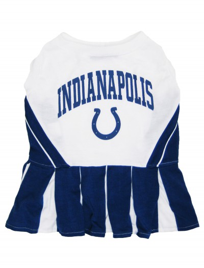 Indianapolis Colts Dog Cheerleader Outfit, halloween costume (Indianapolis Colts Dog Cheerleader Outfit)